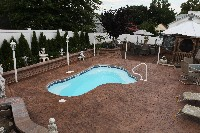 Crystal Springs Fiberglass Pool in Mescalero, NM