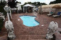 Crystal Springs Fiberglass Pool in Mount Pleasant, TX